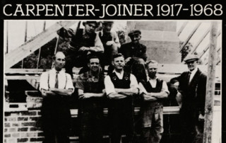 Hard Work and No Consideration: 51 Years as a Carpenter-Joiner 1917-1968